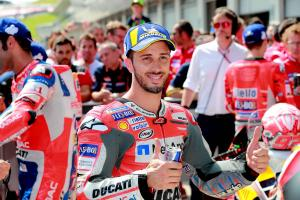 Dovizioso 'happy,' pondering Sunday 'question marks'