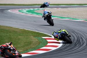 Rossi: It's a combination of engine and electronics