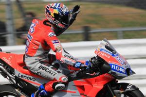 Dovizioso leads FP1 at Misano with Marquez, Rossi off pace