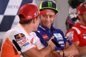 MotoGP Gossip: Marquez: I won't offer handshake to Rossi again