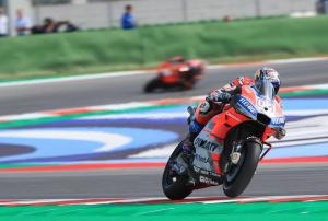 Dovizioso doubles up ahead of Lorenzo for Ducati 1-2