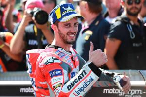 Dovizioso says desire to beat team-mate Lorenzo is 'normal'