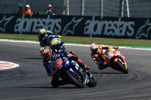 Vinales 'sliding all corner, overtaken like I was stopped'