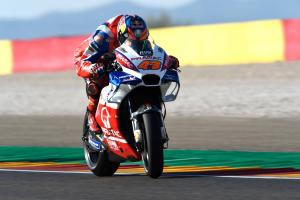 Miller has 'good pace', frustrated by tyres