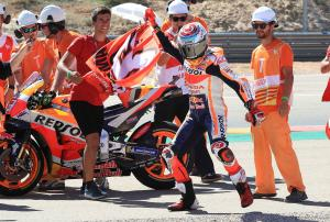 Marquez: I decided I was going to take a risk today