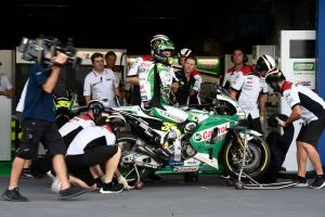 Crutchlow predicts 'hard race', Yamaha speed 'strange'