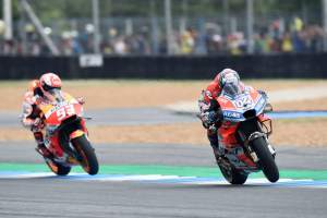 Ducati wheelie advantage over Honda, Vinales fairing