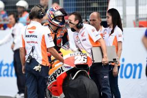 'Pace to win' but Pedrosa hit by 'huge disadvantage'