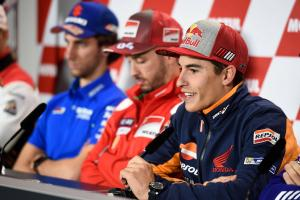 Marquez: If we can't win, no panic