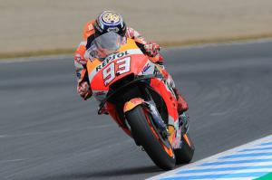 Marquez 'competitive and strong,' eyes Dovi threat