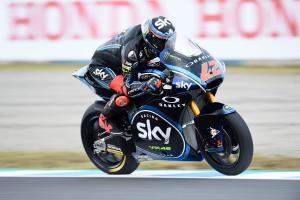 Moto2 Japan: Bagnaia takes advantage with pole, Oliveira ninth