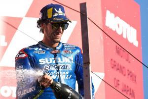 Podium return is just rewards for Suzuki, says Rins