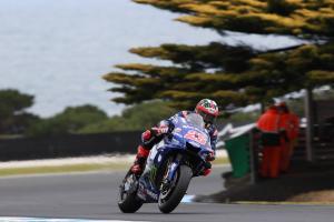 Vinales starts fastest as Marquez, Pedrosa crash in FP1