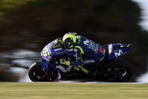Rossi: Spin is too much still, similar to Motegi