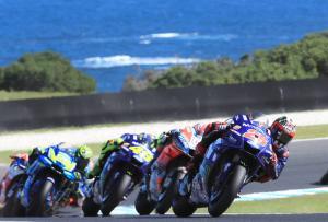 Vinales ends Yamaha win drought as Marquez, Zarco clash