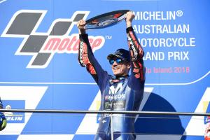 'Darkness to light' - Vinales ends Yamaha victory drought