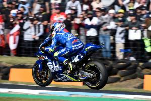 Early Vinales clash wrecks race for Rins