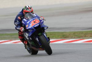 Vinales ups the pace from Marquez
