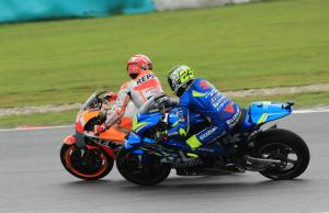 Marquez loses pole position with grid penalty for Malaysian MotoGP