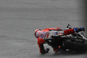 Dovi down, pace to win, 'looking at' Rossi, Vinales