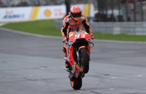 Marquez: No pressure, mentality the same