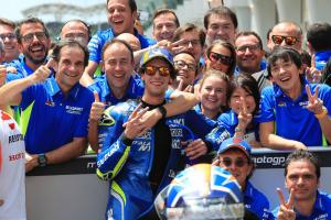 Rins: Assen engine turning point for Suzuki