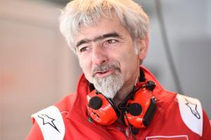 Dall'Igna talks 2018, Lorenzo - welcomes Petrucci, Bagnaia