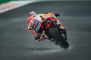 Pedrosa finds wet rhythm ahead of final MotoGP