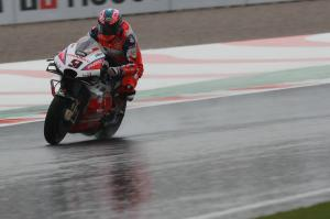 Petrucci goes top as Vinales, Rossi miss out on Q2 spots