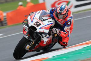 Petrucci: Everyone waved - my bike was on fire!