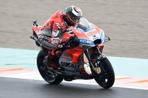 Lorenzo 'better,' still far from optimum wet setting