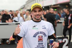 Moto2 Valencia: Oliveira dominates to win after Marquez fall