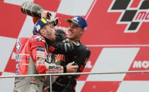 Dovizioso wins wet Valencia MotoGP, Espargaro takes maiden KTM podium
