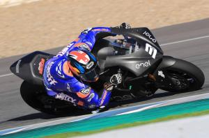 Jerez MotoE test times - Saturday
