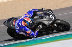 Jerez MotoE test times - Saturday