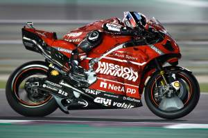 Petrucci stays tight-lipped on new Ducati parts