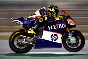 Moto2 Qatar: Baldassarri survives Luthi charge for victory