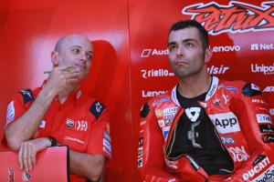 Petrucci: Marc was the cat, he needed a mouse