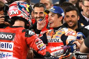Dovizioso: Marquez has something more in attack