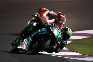 Morbidelli: Yamaha was missing traction, top speed