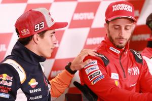 Dovizioso: Marquez's pace and mine the same
