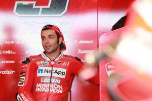 Petrucci: 'Unbelievable we are riding here'