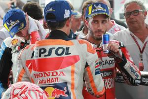 Dovizioso plays down Marquez tactics