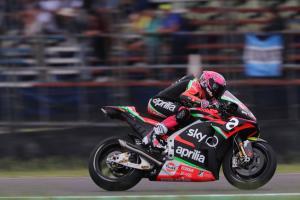 Espargaro's pursuit of Quartararo slides away