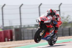 First top ten for Bagnaia, 'progression is good'