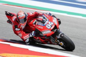 Dovizioso 'positive, better than last year'
