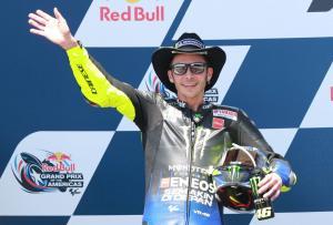 Rossi 'very sorry' as COTA win slips away