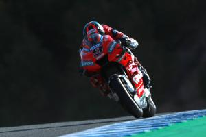 Petrucci leads Ducati resurgence in red-flagged FP2