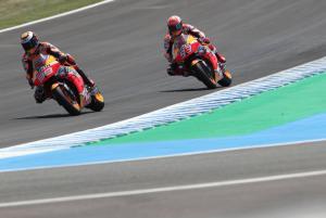 Marquez spots Lorenzo strengths, Jorge seeks corner speed