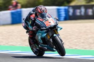 """Quartararo on """"top confidence"""" with lap record after race frustration"""
